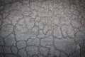 Crack concrete road texture Royalty Free Stock Photo