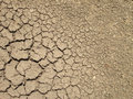 Crack on dry soil  background Royalty Free Stock Photo