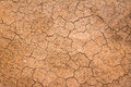 Crack earth crack soil on dry season global warming effect background Stock Photos