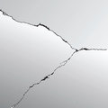 Crack vector earthquake background earth Royalty Free Stock Photo