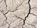 Cracked arid soil Royalty Free Stock Image
