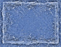 Cracked blue ice rectangle background Stock Photos