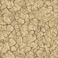 Cracked brown soil seamless texture tileable Stock Photos