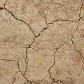 Cracked clay ground texture background Stock Images