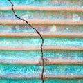 Cracked clay pot Royalty Free Stock Photo