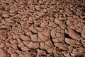 Cracked Dried Mud Stock Photo