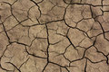 Cracked Dry Soil Royalty Free Stock Photo