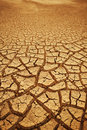 Cracked earth background Royalty Free Stock Photo