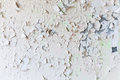 Cracked flaking paint on wall background texture the Royalty Free Stock Photos