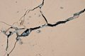 Cracked floor texture background Stock Photo