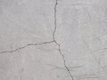 Cracked floor texture close up Stock Image