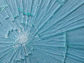 Cracked Glass Macro Royalty Free Stock Photo