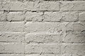 Cracked gray paint on a brick wall. Grunge background Royalty Free Stock Photo