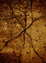 Cracked grunge background Stock Images