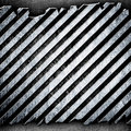 Cracked metal stripe background Royalty Free Stock Photography