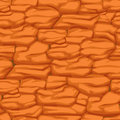 Cracked pattern of orange earth, seamless texture desert soil