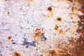 Cracked rusty surface metallic background texture Stock Images