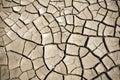 Cracked soil of desert Royalty Free Stock Photo