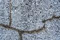 Cracked stone wall background Royalty Free Stock Photo