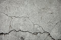 Cracked stone wall texture of grey Royalty Free Stock Photos