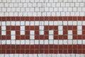 Cracked tile design Royalty Free Stock Photo