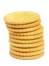 Cracker cookies Royalty Free Stock Image
