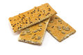 Crackers cracker with sugar sesame and sunflower seeds Royalty Free Stock Image