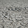 Cracks in dried mud Royalty Free Stock Photo
