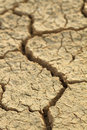Cracks in dry earth Stock Photography