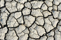 Cracks in dry soil thailand Stock Photography