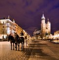 Cracow (Krakow) in Poland Royalty Free Stock Photo