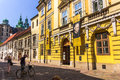Cracow (Krakow)-Poland- old Kanonicza street Royalty Free Stock Photo
