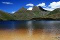 Cradle Mountain and Dove Lake, Tasmania, Australia Royalty Free Stock Photo