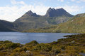 Cradle mountain np australia lake st clair national park tasmania Stock Photo