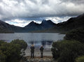 Cradle Mountain Tasmania Royalty Free Stock Photo