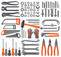 Craft icons – Hand tools (Set 4) Stock Image
