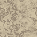 Craft paper seamless pattern Stock Images