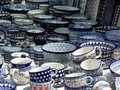 Crafted pottery. Royalty Free Stock Photo