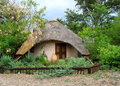 Crafts store in a small village near chobe park botswana Royalty Free Stock Photo