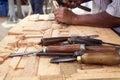 Craftsman Royalty Free Stock Photo