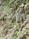 Crag natural stone beautifully crafted Royalty Free Stock Photography