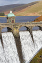 Craig goch dam in elan valley Stock Foto
