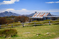 Craig s hut as seen in the man from snowy river movie in the victorian alps australia Royalty Free Stock Photography