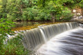 Cramond Weir Royalty Free Stock Photo
