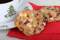 Cranberry Cookies Stock Image