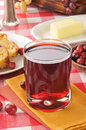 Cranberry juice Royalty Free Stock Photography