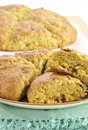 Cranberry orange scones Stock Image