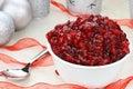 Cranberry Relish Royalty Free Stock Photo