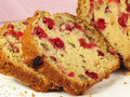 Cranberry Walnut Bread Stock Image