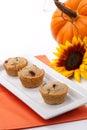 Cranberry-walnut muffins Stock Photo
